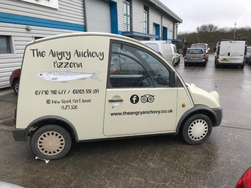 The Angry Anchovy Van